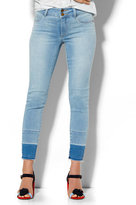 New York & Co. Soho Jeans - High-Waist Ankle SuperStretch Legging - Released Hem