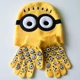 FuShi Kids Winter Hat Scarf Gloves Set, Spider-Man 2-7 Years