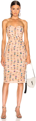 retrofete Rachel Dress in Nude | FWRD