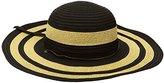 San Diego Hat Company Women's 4.5-Inch Sun Brim Hat with Adjustable Cord