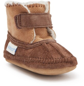 Robeez Galway Faux Fur Lined Cozy Bootie