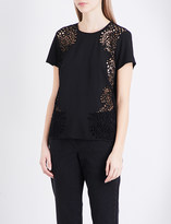 French Connection Gilly woven top