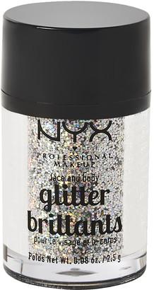NYX Face & Body Glitter Crystal