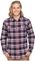 VISSLA The Bluff Plaid Long Sleeve Heavy Weight Plaid Flannel
