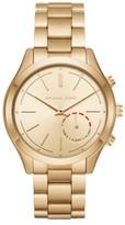 Michael Kors Slim Runway Gold-Tone Hybrid Smartwatch