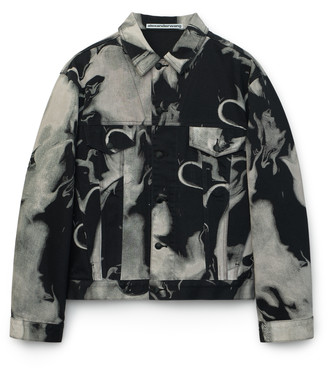 Collection Classic Printed Trucker Jacket
