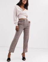 Vila check tailored pants