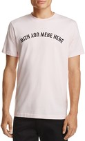 Wesc Wish You Were Here Graphic Tee