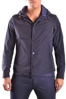 Moncler Men's Blue Polyamide Outerwear Jacket.