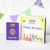 Geo Journey Travel Journal And Passport Set