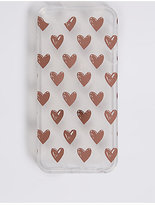 M&S Collection iPhone 5/5S Heart Print Phone Case