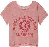 PINK University Of Alabama Cropped Crew