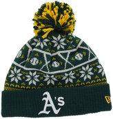New Era Oakland Athletics Sweater Chill Pom Knit Hat