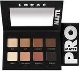 LORAC 'Pro' Matte Eyeshadow Palette - No Color
