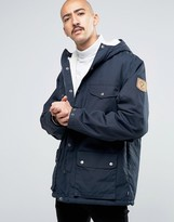 Fjallraven Greenland Winter Jacket In Navy