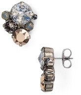 Sorrelli Swarovski Crystal Cluster Stud Earrings