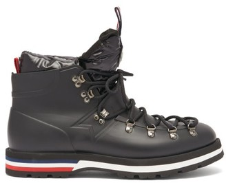 Moncler Henoc Down-filled Rubber Boots - Black