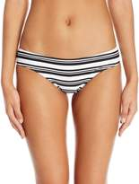 MinkPink Women's Show Your Tripes Boyleg Bikini Bottom
