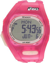 Asics Ar08 Night Run Womens Pink Strap Watch-Cqar0804y