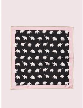 Kate Spade Elephant Silk Bandana
