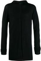 Rick Owens fine knit hoodie