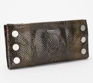 Hammitt Printed Leather Foldover Wallet - 110 North