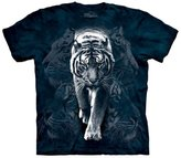 The Mountain Men's White Tiger Stalk Short Sleeve T-Shirt