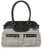 JJ Cole Satchel Bag in Black/Cream
