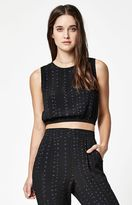 RVCA Retrograde Open Back Cropped Top