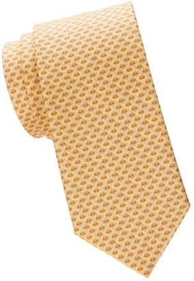 Salvatore Ferragamo Sea Turtles Silk Tie