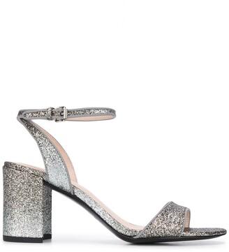 Ash Block Heel Sandals