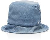 Maison Michel Fredo Denim Hat