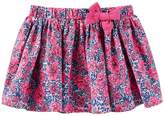 Osh Kosh Toddler Girl Printed Bow Skirt