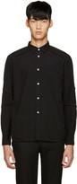Comme des Garcons Black Treated Shirt