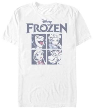 Disney Men's Frozen Group Box Up, Short Sleeve T-Shirt
