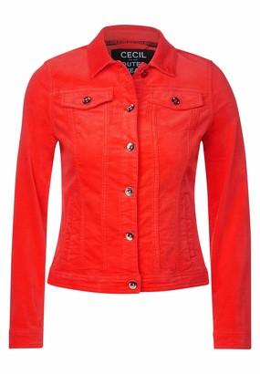 Cecil Women's 211252 Jeansjacke Velvet Denim Jacket