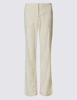 Classic Pure Cotton Straight Leg Trousers