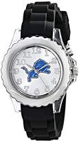 "Game Time Youth NFL-FLB-DET ""Flash Black"" Watch -"
