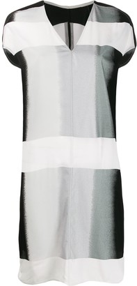 Rick Owens print mix dress