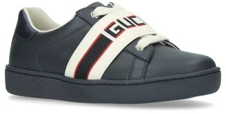 Gucci Kids New Ace Elastic Sneakers