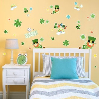 Generic Green Leprechaun St. Patrick's Small Wall Decal