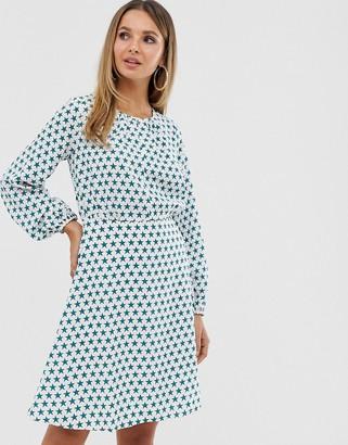 Closet London Closet split neck full sleeve dress