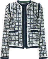 Tory Burch Petra Milano square jacket - women - Polyester - S