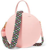 Clare Vivier Alistair Small Leather Shoulder Bag - Blush