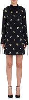 Robert Rodriguez WOMEN'S EMBROIDERED SILK SHIFT DRESS