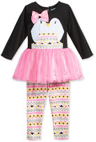 Sweet Heart Rose 2-Pc. Penguin Tutu Tunic & Leggings Set, Baby Girls (0-24 months)
