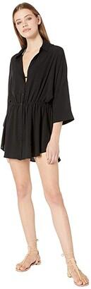 L-Space Pacifica Tunic (Black) Women's Swimwear