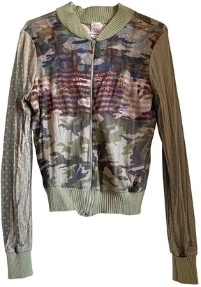 Lm Lulu Khaki Jacket for Women