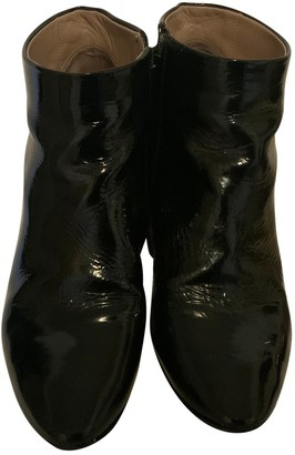 Chloé Black Patent leather Ankle boots