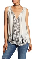 Romeo & Juliet Couture Pattern Stripe Tank